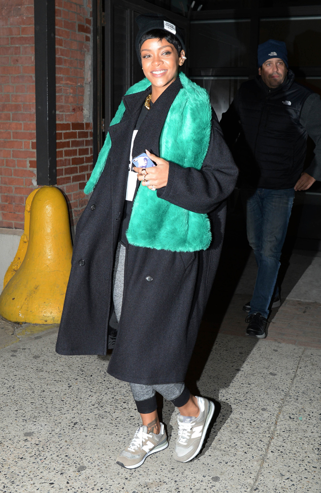 Rihanna baskets New Balance