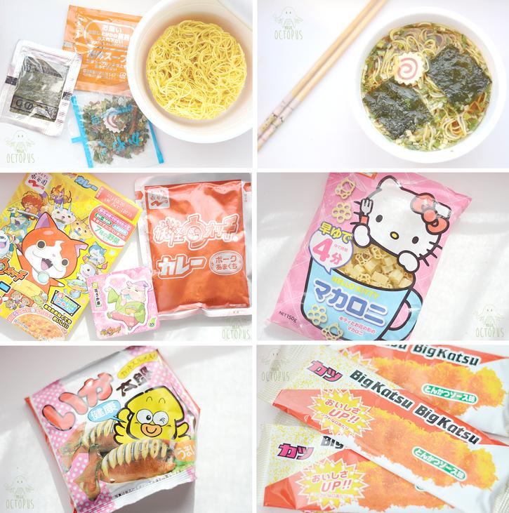 Candysan & Japanese Food #2 - Magic Octopus Blog