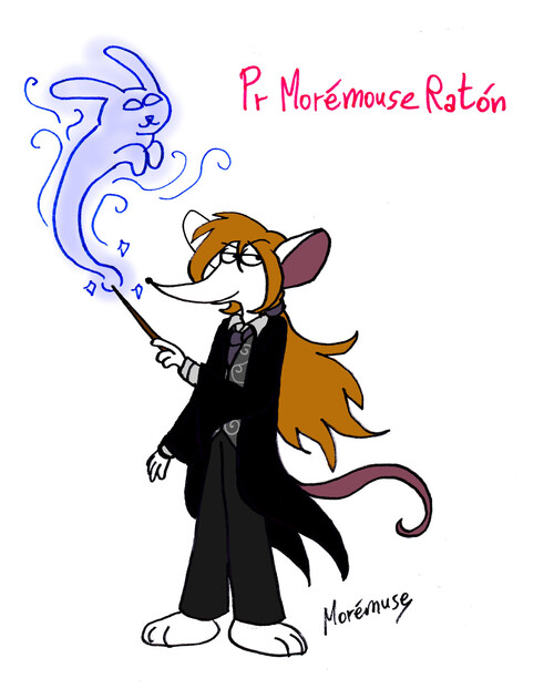 Pr Morémouse Raton [Witchy Day Challenge jour 1]