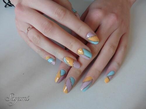 Nail Art Origami