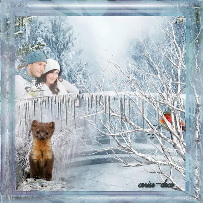 gif : hiver à deux
