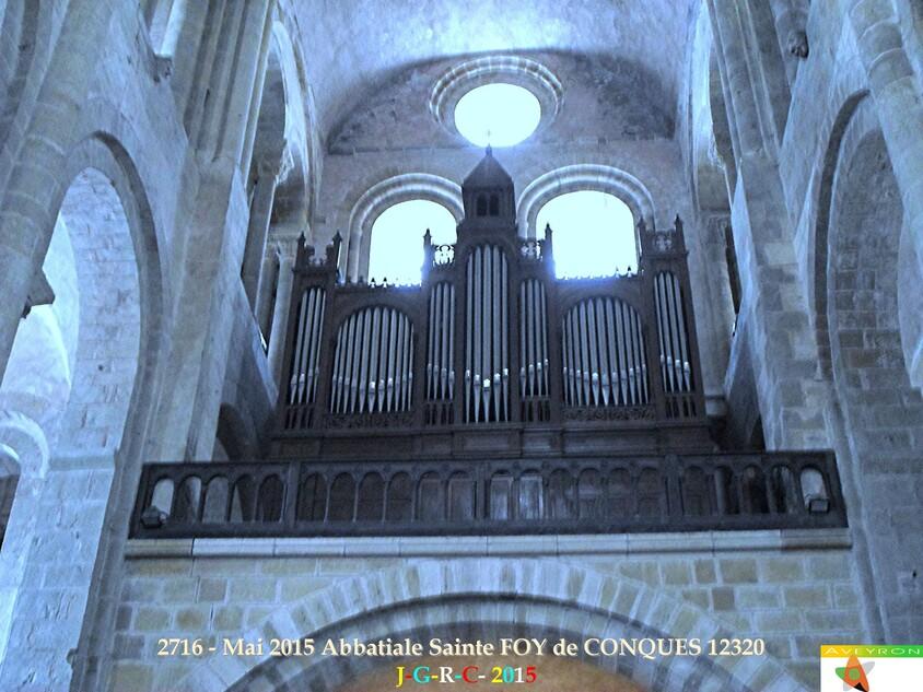 Abbatiale Sainte FOY  de CONQUES  2/2     MAI  2015  D 27/09/2015
