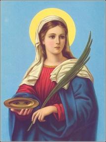 Sainte Lucie...