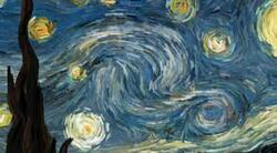 ~~ Nuit étoilée ~~  de F.E. Sicard.