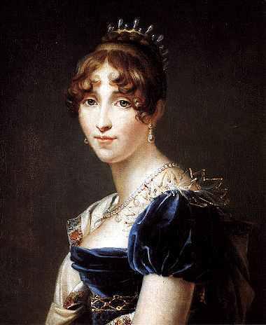 Hortense de Beauharnais (1783-1837), reine de Hollande par le baron François Gérard