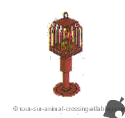 cage à oiseaux - animal crossing DS