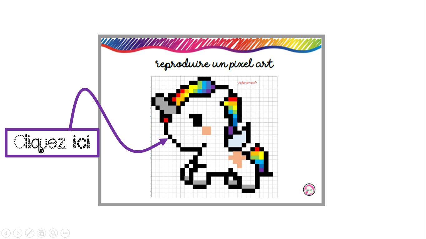 Reproduire Un Pixel Art Maitresse Aurel