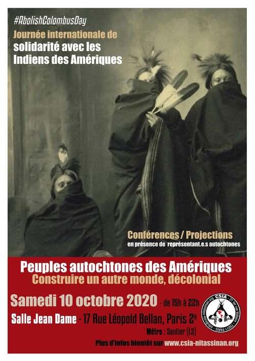 Journée de solidarité avec les peuples autochtones