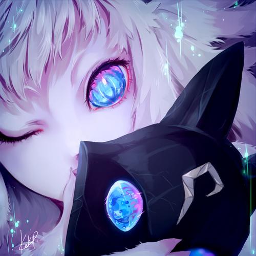 Image de anime, kindred, and anime girl