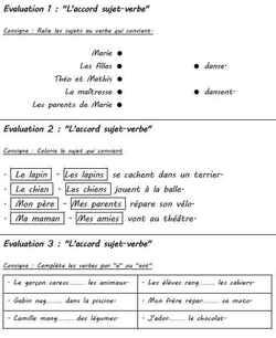 """""""Les mini-évaluations de français de la période 2"""""""