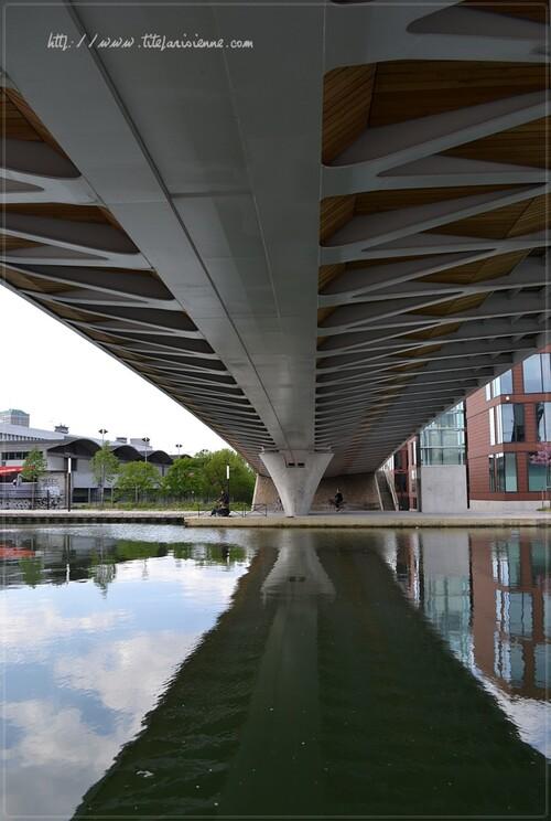 Pont du canal de l'Ourcq - Pantin (93)