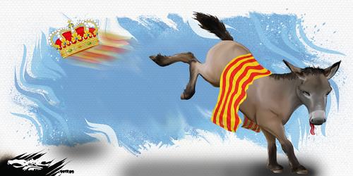 dessin de JERC du jeudi 12 octobre 2017 caricature burro catalan autodétermination ! www.facebook.com/jercdessin