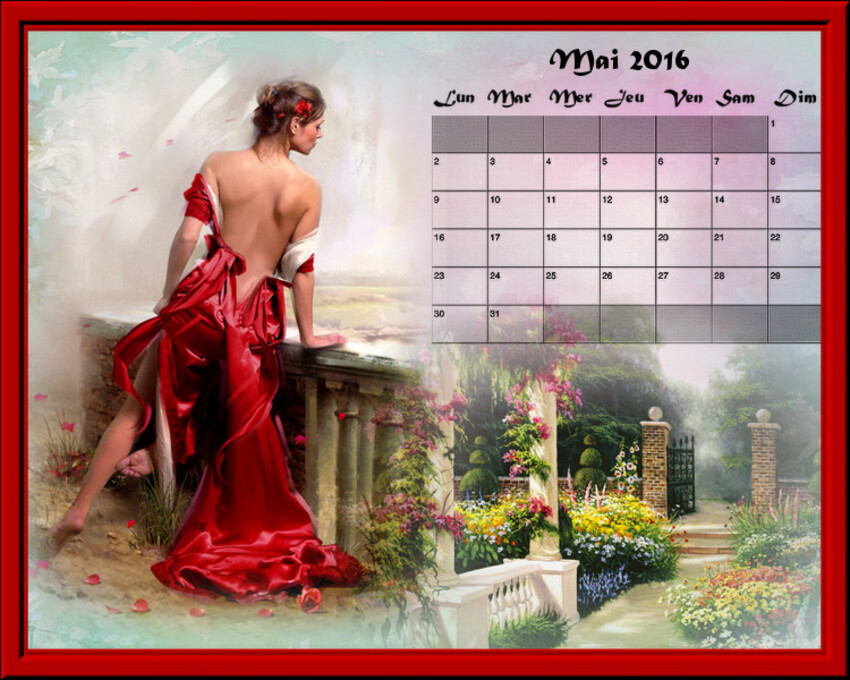 calendriers de mai