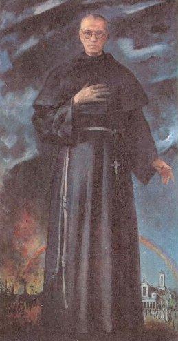 Saint Maximilien Kolbe. Frère mineur, martyr, fondateur de la Milice de l'Immaculée († 1941)