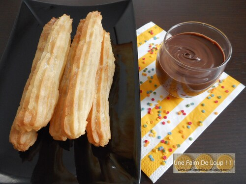 Churros au four