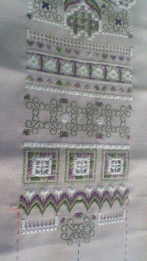 flower patch de loopylou - les avancées -suite