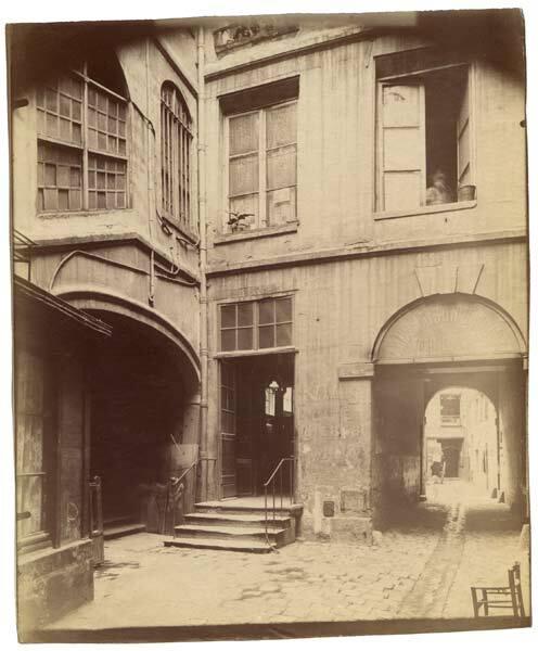 Eugène Atget : Le château Rouge