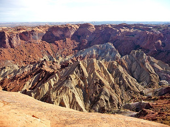 Jour 6 Canyonlands Upheaval Dome