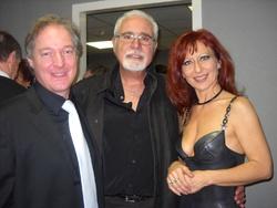 Avec Thiérry Nolls chef d'orchestre et Marie Pierre