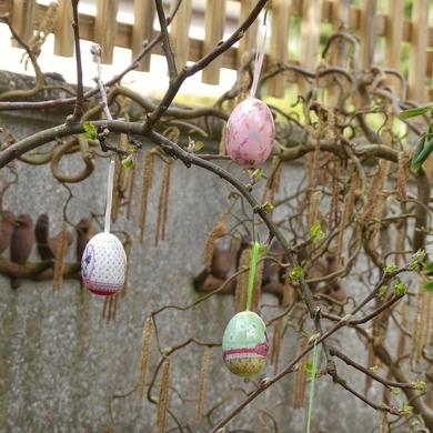 Arbre de Pâques...