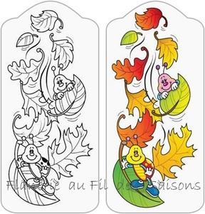 Zen coloriage Automne !