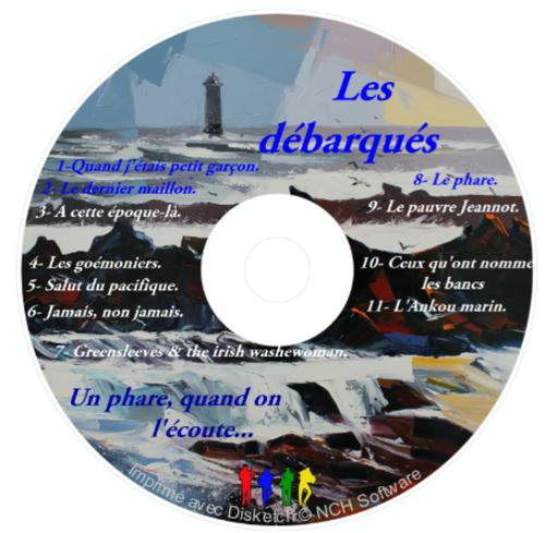 LE CD ALBUM DES DEBARQUÉS : DEUXIÈME TITRE...