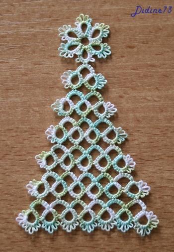 SAL cartes de voeux, étiquettes cadeaux ou bricoles de Noël (M-3) frivolité-2