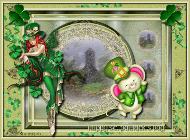 *** Happy st. patrick's day ***