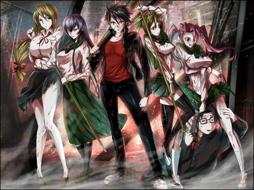 Hight School Of The Dead
