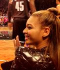 Beyonce & Jay-Z au matche des Nets vs Clippers