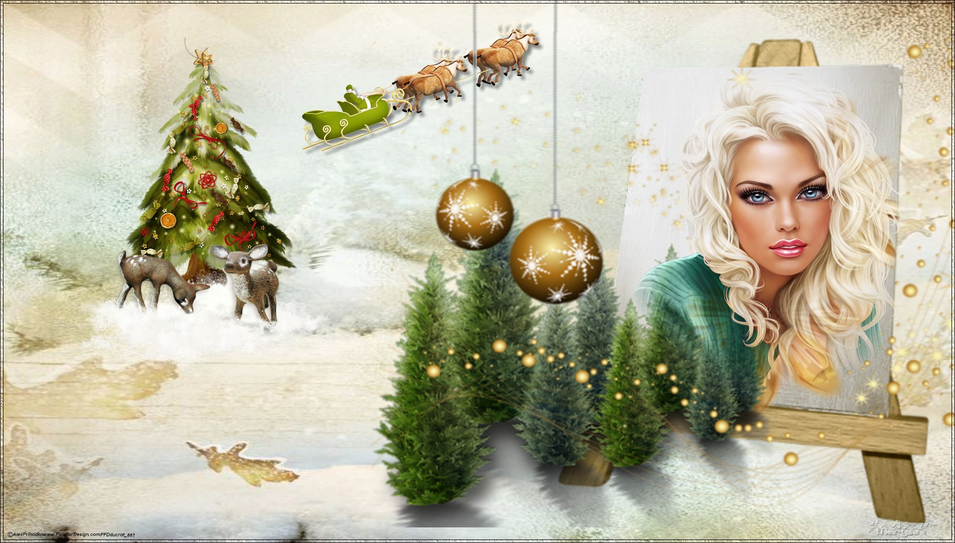 Mes Fond d'écran de Noel