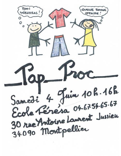 tap troc affiche