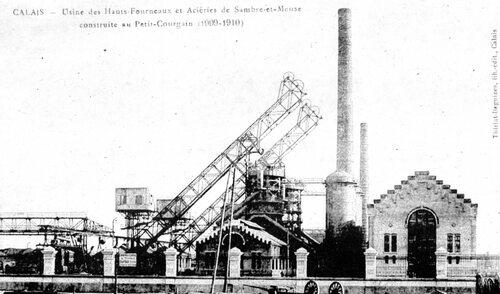 La société des aciéries de Sambre et Meuse, quai de la Loire
