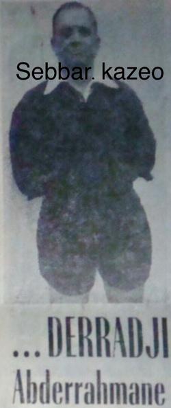 DERRADJI Abderrahmane