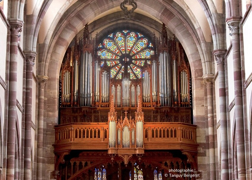 Le Grand Orgue Joseph Merklin d'Obernai