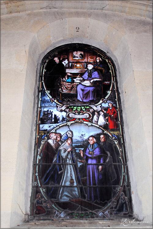 Vitraux de la Basilique Notre-Dame de Verdelais