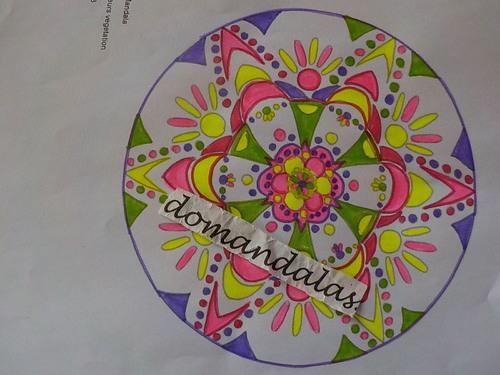 DOMANDALAS  coloriages plusieurs mandalas