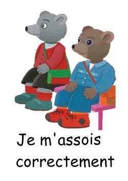 Règles de vie pour mes oursons