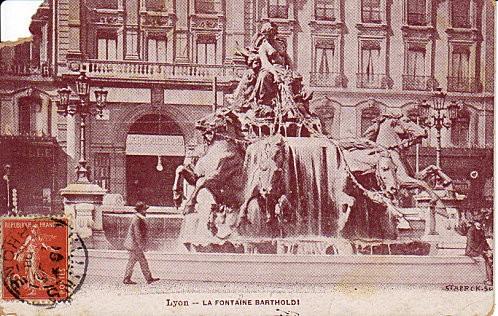 Lyon la fontaine Bartholdy