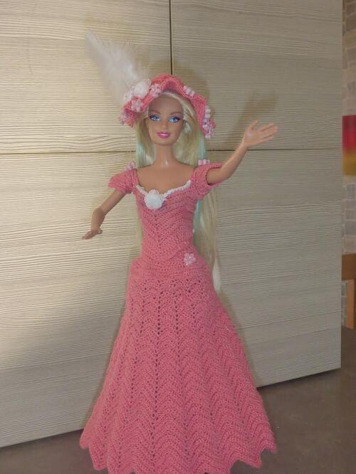 """Vos avancées pour le CAL de la robe Barbie """"Jade"""" (6)"""