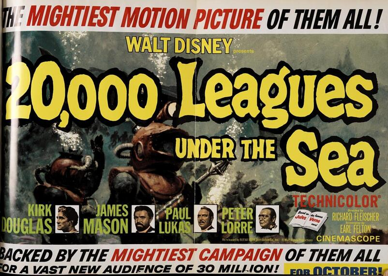 20000 LEAGUES UNDER THE SEA BOX OFFICE US 1963