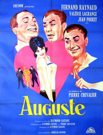 AUGUSTE BOX OFFICE FRANCE 1961