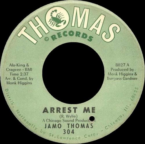 "Jamo Thomas : CD "" The Complete Singles "" SB Records DP 41 [ FR ]"