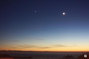 Lune, jour 3 - avec l'ISS