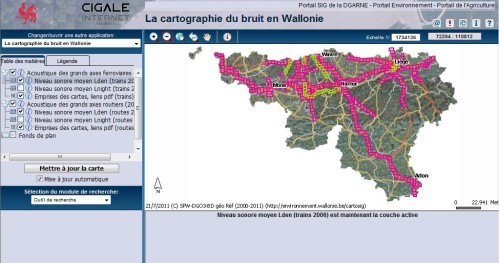 cartographie bruit