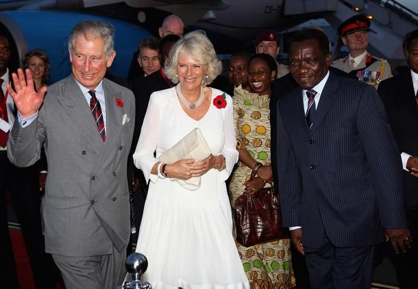 Camilla et Charles en Tanzanie