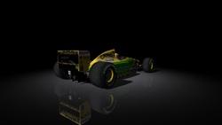 Team : Camel Benetton Ford - Ford HBA7 3.5 V8