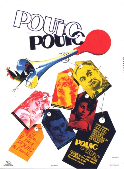 POUIC POUIC - LOUIS DE FUNES BOX OFFICE 1963