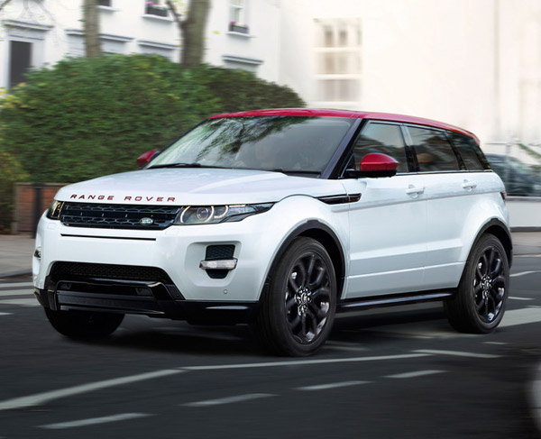 location 4x4 Range Rover Evoque