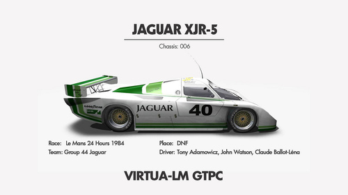 Team Group 44 Jaguar Jaguar XJR-5